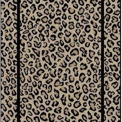 """Concord Global - Concord Global 44922 Leopard Beige 2'3""""X7'7"""" Runner Woven RugJewel Collection - Jewel collection is machine-made in Turkey using 100% heat-set polypropelene. These traditional to contemporary rugs will make a colorful addition to any area."""