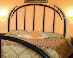 Mathews & Company - Pinnacle Wrought Iron Headboard - Our overview of the new Pinnacle Wrought Iron Headboard is on its way but you can still purchase this wonderful piece for your master suite or guest bedroom. If you have questions about the product just drop a line or send us an email!Pictured in Black finish.
