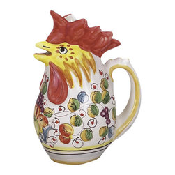 Ceramic - Miele Rooster Pitcher - Miele Rooster Pitcher