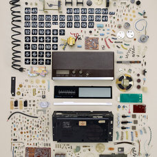 Eclectic Artwork Old Flip Clock, by Todd McLellan
