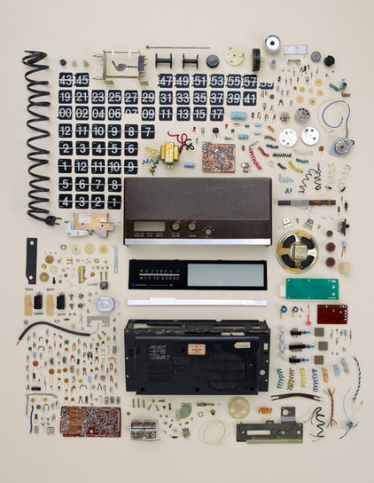 Eclectic Prints And Posters Old Flip Clock, by Todd McLellan