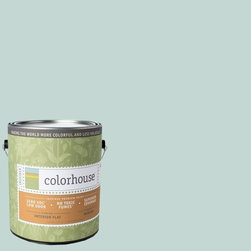 Inspired Flat Interior Paint, Wool .01, Gallon - Colorhouse paints are zero VOC, low-odor, Green Wise Gold certified and have superior coverage and durability. Our artist-crafted colors are designed to be easy backdrops for living. Colorhouse paints are 100% acrylic with no VOCs (volatile organic compounds), no toxic fumes/HAPs-free, no reproductive toxins, and no chemical solvents.
