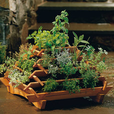 contemporary outdoor planters by Plow & Hearth