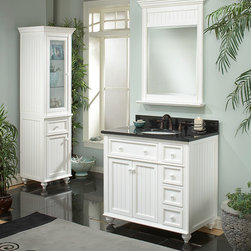 Sagehill Designs Kitchen and Bath Cabinetry Collections - The Cottage Retreat bath vanity collection from Sagehill Designs.  Find out more at www.sagehilldesigns.com.