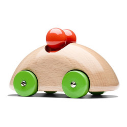 Playsam - Playsam Streamliner Rally Organic - For the little one in your life who's really going places! This awesome auto, designed by Ulf Hanses, is made of organic wood with an irresistible shiny finish. Perfect for playtime or parked on a shelf looking stylish.