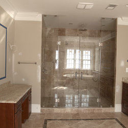 Frameless Shower Doors - Visit Showroom Partners online we have products for the interior and exterior of your home. Professionally installed all over the United States.