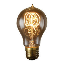 Bulbrite - Bulbrite 60W Victorian Loop Filament A19 Incandescent Edison Light Bulb - 6 pk. - Shop for Light bulbs from Hayneedle.com! Roll your hair up in some pin curls and swing back in time with the vintage style of the Bulbrite 60W Victorian Loop Filament A19 Incandescent Edison Light Bulb - 6 pk.. Ideal for antique and vintage style fixtures it's ideal for a variety of applications. The warm yellow color is certain to add an inviting glow to any room in your home.About BulbriteBulbrite is a family-owned company started in 1971 and based in Moonachie New Jersey. Bulbrite is renowned for their commitment to innovation education and service. They are a leading manufacturer and supplier of innovative energy-efficient light source solutions. Bulbrite is an award-winning company. Most recently their president Cathy Choi received the 2010 Residential Lighting Industry Leadership Award and the Bulbrite Swytch LED Desk Lamp received the 2010 Home Furnishing News Award of Excellence. They have introduced award-winning products and offer an extensive line of light bulbs including LEDs HID compact fluorescents fluorescents halogens krypton/xenon incandescent bulbs and specialty lamps. Bulbrite is an active member of the ZHAGA the American Lighting Association a silver sustaining member of the Illuminating Engineering Society of North American (IESNA) an Energy Star Partner a Lighting Facts LED Product Partner a member of LUMEN Coalition and a member of the International Dark Sky Association.
