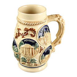 EuroLux Home - Consigned Vintage 1950s Beer Stein Luxembourg - Product Details