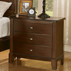Transitional Nightstands And Bedside Tables by Modern Furniture Warehouse
