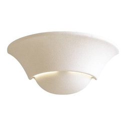 "Minka Lavery - Minka Lavery 353 5"" 1 Light Wall Sconce in White Ceramic 353 - Medium BaseBulb Included: No Bulb Type: Incandescent Energy Star Compliant: No Extension: 6 Finish: White Ceramic Height: 5 Number of Lights: 1 Style: Transitional Suggested Room Fit: Bathroom Foyer Wattage: 100 Weight: 2.35 Width: 12-1 4"