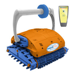 Blue Wave - Blue Wave Aqua First In-Ground Rc Floor & Wall - Compare To Aquabot Turbo T-Rc; Ultra-Fast Robotic Cleaner With Remote Control For Spot Cleaning, Now With Power Washing Jets! Aquafirst; Turbo Rc Is The Fastest Cleaning, Most Technologically Advanced Pool Cleaner In Its Class. Just Press The Button And The Dirt-Eating Dynamo Provides Triple Function Cleaning To Scrub, Power Wash, Vacuum & Filter Your Pool. The Unit Will Clean Any Pool Up To 50 Feet In Length In 3 Hours Or Less. When Its Work Is Done, Aquafirst; Turbo Rc Automatically Shuts Itself Off. Vacuums, Scrubs & Filters Aquafirst; Turbo Brushes & Power Washes Even The Toughest Dirt With Its Patented Jet Washing System. The Unit Powerful Suction Motor Sucks Up All Debris, Leaves & Twigs And And Deposits Them In Its Own Filtration Bag. Aquafirst; Turbo Rc Filters 5,000 Gallons Of Pool Water Per Hour And Removes Dirt, Debris And Even Algae. Almost Nothing Is Small Enough To Evade Its Filtration Bag. Powerful Brushes On The Front And Back Of The Unit Scrub Away Stubborn Dirt And Algae From Your Pool Surfaces. Since Aquafirst; Turbo Rc Has Its Own Filtration System It Reduces The Load On Your Existing Pump And Filter System While It Distributes Heat And Chemicals As It Cleans. Economical, Super Safe Low Voltage Aquafirst; Turbo Rc Runs On A Safe, Ultra-Efficient 24 Volts. The Pre-Programmed Unit Cleans Your Pool Floors, Steps And Walls Up To The Water Line In 3 Hours Or Less & Automatically Shuts Itself Off When Its Work Is Done. Patented Neverstuck; Rollers Keep Aquafirst; Turbo Rc From Getting Stuck On Main Drains And Other In-Floor Obstructions. Remote Control Cleaning The Unit Comes With Its Own Remote Control Handset That Allows You To Direct The Cleaner Anywhere That Needs Additional Cleaning. Rc Provides For Radius Turning And Precise Forward & Reverse Movements That Allow For Easy Direction Anywhere In Your Pool. Designed For Residential Pools Up To 50; In Length, The Unit Comes Compelte With Cleaner, 60 Feet Of Floating Cord And Low Voltage Transformer. Aquafirst; Turbo Rc Is Lightweight; 17 Lbs; So It Is Easy To Lift Out Of The Water. UL and ETL Listed. 1-Year Warranty.