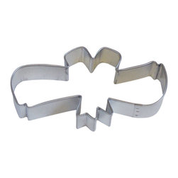 RM - Diploma 4 In. B0895 - Diploma scroll cookie cutter, made of sturdy tin, Size 4 in long. Depth 7/8 in., Color silver