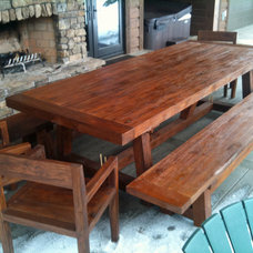 Traditional Outdoor Dining Tables by Impact Imports
