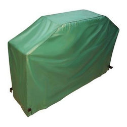 """Mr Bar B Q - X-Large Grill Cover - Mr. Bar-B-Q Deluxe X-Large Gas Grill Cover Fits most oversized gas grills. Soft flannel lining protects finish.  Velcro closure at bottom for secure fit.  Made of improved heavy duty lead-free vinyl.  Protects from dirt, dust, rain, pollen & snow.  Size: 80"""" x 18"""" x 52"""" (203.2 cm x 45.7 cm x 132 cm)."""