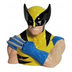 "Westland - 10.5"" X-men The Savage Wolverine with Claws Out Colorful Cookie Jar - This gorgeous 10.5"" X-men The Savage Wolverine with Claws Out Colorful Cookie Jar has the finest details and highest quality you will find anywhere! 10.5"" X-men The Savage Wolverine with Claws Out Colorful Cookie Jar is truly remarkable."