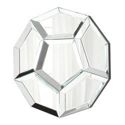 Cyan Design - Cyan Design 06364 Clear Hawaiian Garden Mirror - Cyan Design 06364 Clear Hawaiian Garden Mirror