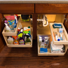 Contemporary Cabinet And Drawer Organizers by ShelfGenie of Indiana