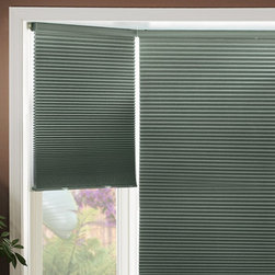 Graber - Graber Cocoon Double Cell 3/8-inch Blackout Crystal Pleat Cellular Shades - The Cocoon blackout fabric is the top of the line in the Graber CrystalPleat collection providing total blackout light control.