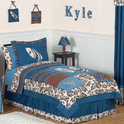 Sweet Jojo Designs - Sweet Jojo Designs Tropical Hawaiian Surf 3-piece Comforter Set - This 3-piece surf full/queen bedding collection will transform any room into a tropical Hawaiian paradise.