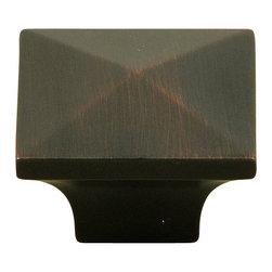 Stone Mill Hardware - Stone Mill Hardware Oil Rubbed Bronze Cairo Cabinet Knob - Stone Mill Hardware - Oil Rubbed Bronze Cairo Cabinet Knob