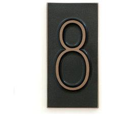 Modern House Numbers Modern House Numbers