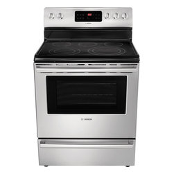 "Bosch Evolution Dlx 30"" Electric Freestanding Range, Stainless Steel 