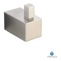 Fresca - Fresca FAC0401BN Ottimo Robe Hook - Brushed Nickel - Fresca FAC0401BN Ottimo Robe Hook - Brushed Nickel
