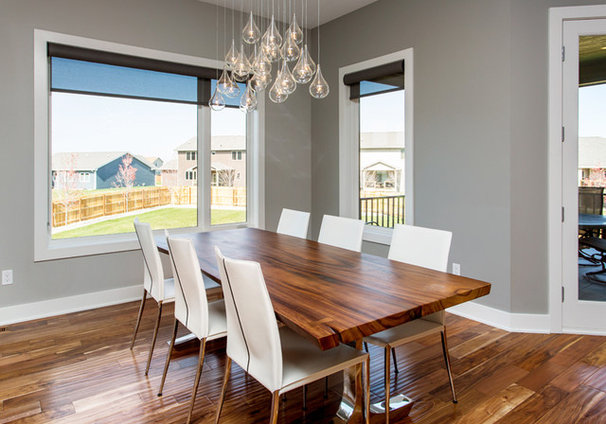 Contemporary Dining Room by Homes by DePhillips