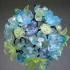 Eclectic Chandeliers by Elizabeth Lyons Glass
