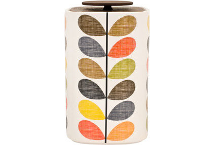 modern food containers and storage by Orla Kiely