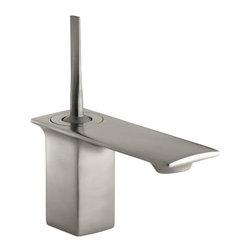 KOHLER - KOHLER K-14760-4-BN Stance Single Handle Lavatory Faucet - KOHLER K-14760-4-BN Stance Single Handle Lavatory Faucet in Brushed Nickel