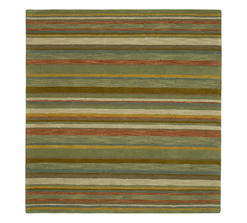 """Kaleen - Kaleen Tara Square Collection 7811-44 7'9""""X7'9"""" Sq. Natural - Tara_ is the perfect shape to bring a stylist Caf_ flair to any home or office.  Awesome squares in an incredible selection of sizes. Tara_ is Hand-tufted from the finest 100% Virgin Wool Pile. Hand crafted in India."""