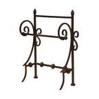 Imax - Iron Antique Bronze Towel Holder Iron Metal Bath Home Decor - Iron antique bronze towel holder iron metal bath home decor Imax 9731