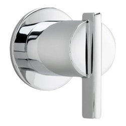 American Standard - Berwick On/Off Volume Control Trim Kit with Lever Handle in Polished Chrome - American Standard T430.700.002 Berwick On/Off Volume Control Trim Kit with Lever Handle in Polished Chrome.