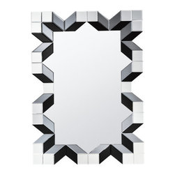 """Kichler - Kichler 78219 Stormy 37.25"""" Modern Wall Mounted Mirror - Specifications:"""