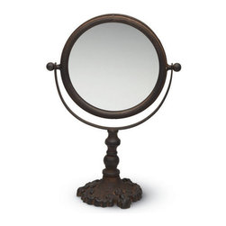 Classic Vanity Mirror - The Classic Vanity Mirror is a charming addition to your beauty arsenal. Its vintage appeal will make it a stand-out piece on your vanity. You'll never have to wonder who is the fairest of them all with this chic mirror.