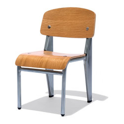 Industry West - Prouve Kids Chair - Your kids want to look stylish too! This mini Prouve is a great add on to any children room.