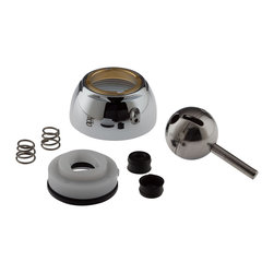 Delta Repair Kit - Ball, Seats, Springs, Cam, Cap, Adjusting Ring and Bonnet - R - Designed exclusively for Delta faucets.