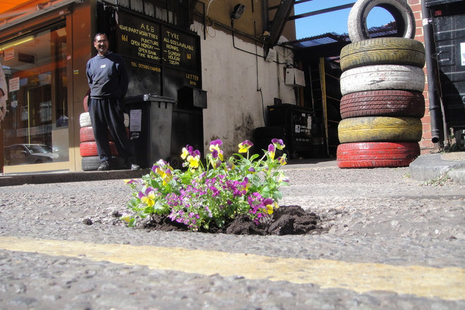 by The Pothole Gardener