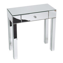 Ave Six - Mirrored Sofa Table - Contemporary design
