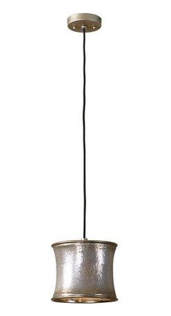Uttermost - Uttermost Marcel Champagne Mini Drum Pendant - 21850 - Uttermost Marcel Champagne Mini Drum Pendant - 21850