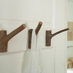 towel hooks - towel hooks... originally found on etsy, ours will be made from the branches cut while trimming our own trees