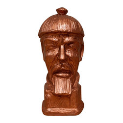 Casa de Arti - Classic Chinese General Warrior Bust - Beautiful bust of a Chinese General, perfect for your room decor.