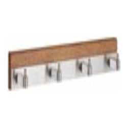 Smedbo - Smedbo Coat Rack Quadruple Stainless Steel - Smedbo Coat Rack Quadruple Stainless Steel