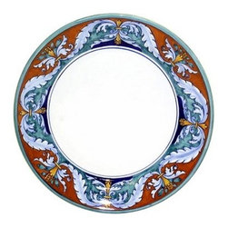 Artistica - Hand Made in Italy - Royale: Charger Buffet Platter - Royale Deruta Dinnerware collection: