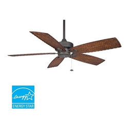 "Fanimation - Fanimation FP8009 Cancun 52"" 5 Blade Ceiling Fan - Blades Included - Included Components:"