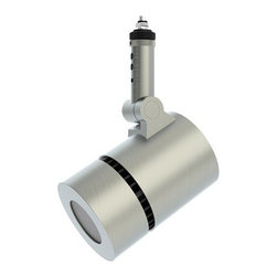 Prima Lighting - Del 406 Adjustable Cylinder LED Spot Head - LED spot head for use on Prima Monorail system. Available in three finishes and color temperatures.