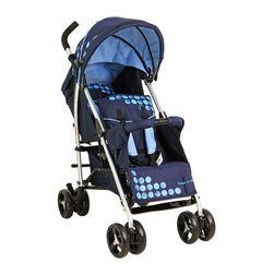 Dream On Me - Freedom Tandem Stroller - From the brand you have grown to trust comes the, freedom tandem stroller by Dream on Me. This unique tandem stroller is a must have for families with small children. The rear seat has a 3 position recline and 5 point safety harness for security. The front seat offers an adjustable foot rest, 1 position seat recline and 5 point safety harness. The oversized, adjustable canopy with peek- a -boo window provides shade for both children when needed. Stroller comes equipped with dual front swivel, lockable wheels, handy foot break and generous storage basket for all your essentials. Whether it's a leisure day in the park or errand full day with the children, Freedom tandem stroller by Dream on Me fits the bill. Features: -Freedom tandem stroller.-90% Polyester / 10% Steel.-Handy foot break folds flat.-Compact for easy storage.-Canopy with peek a boo window.-Folds flat and compact for easy storage and travel.-Distressed: No.Dimensions: -Overall Product Weight: 24 lbs.Warranty: -30 Days warranty.