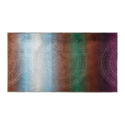 Kassatex Spiaggia Ombre Medallion Beach Towel