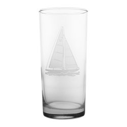 Sailboat Cooler 15oz, Set of 4